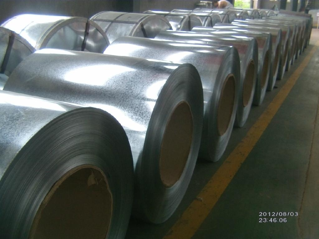 Hot dipped Ga  anized Steel in Coil(GI STEEL) 4