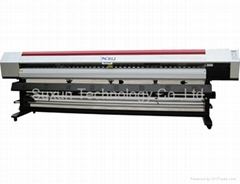 旭麗3.2米愛普生噴頭戶外壓電寫真機牆紙油畫布背景牆打印機