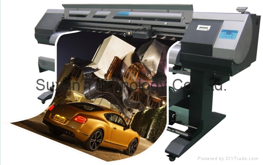 Cut and Print two in one Epson Head ECO-Solvent Inkjet Printer 1