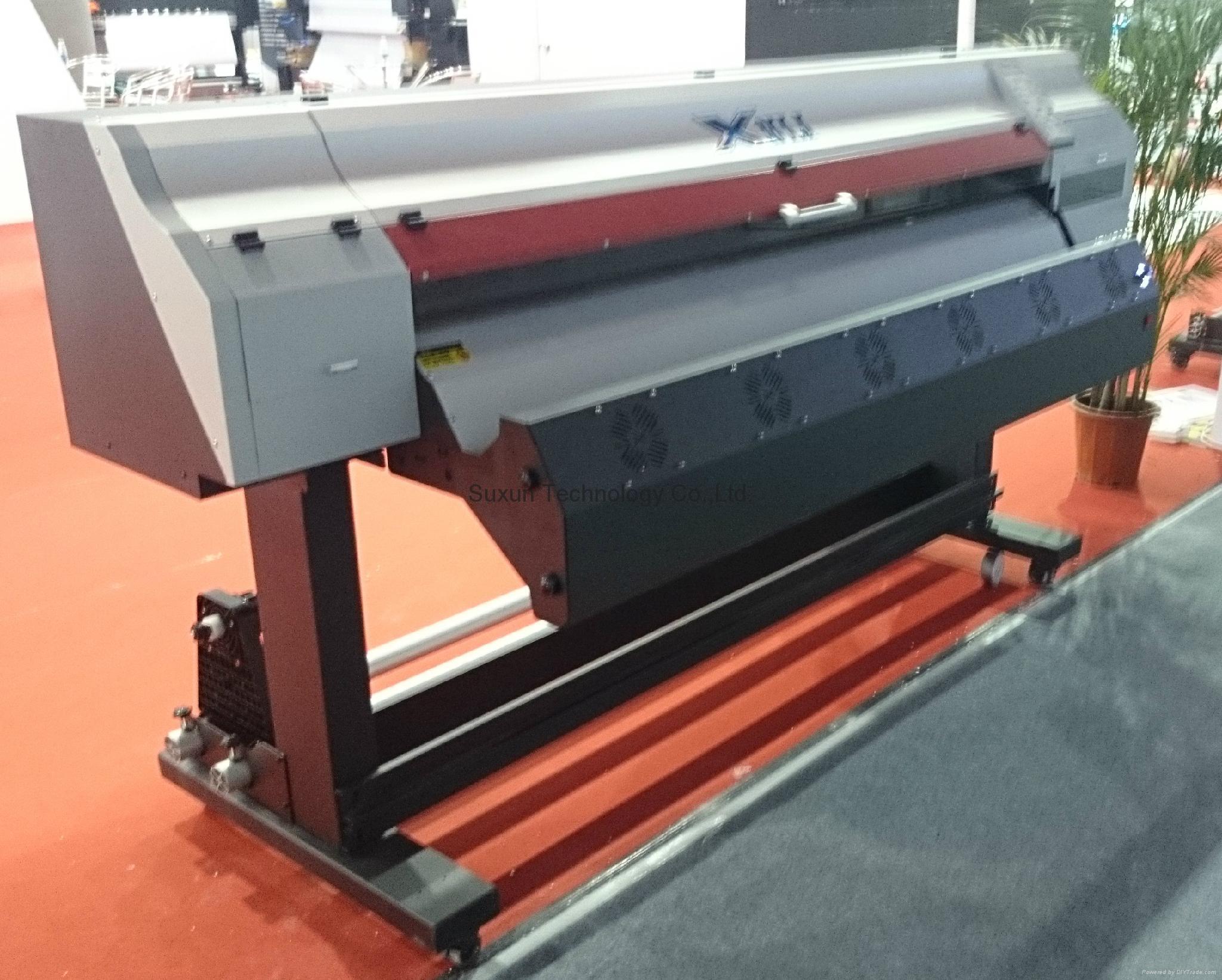 1 6 Meter Epson Head Eco Solvent Inkjet Printer For