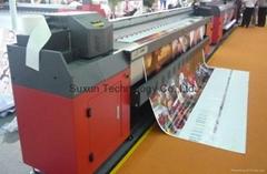 Flex Banner Vinyl Printer Leopard  Konica head Solvent Inkjet Printer