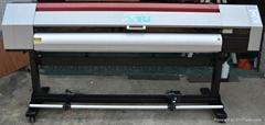 1.8米愛普生噴頭1440高精度熱昇華紡織轉印寫真機