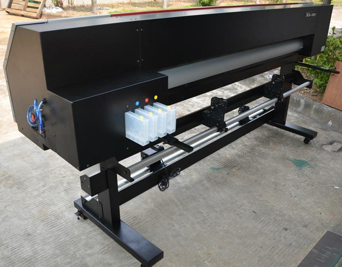 Xuli 1.8 meter Epson Head Digital Inkjet Printer  5