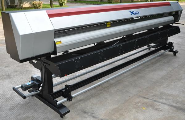 10.5ft  wall paper 1440dpi Epson Head  Eco-solvent Inkjet Printer 1