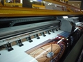 190 square meter 3.2m 10ft Knoica 512i Head Large Format  Solvent Printer  3