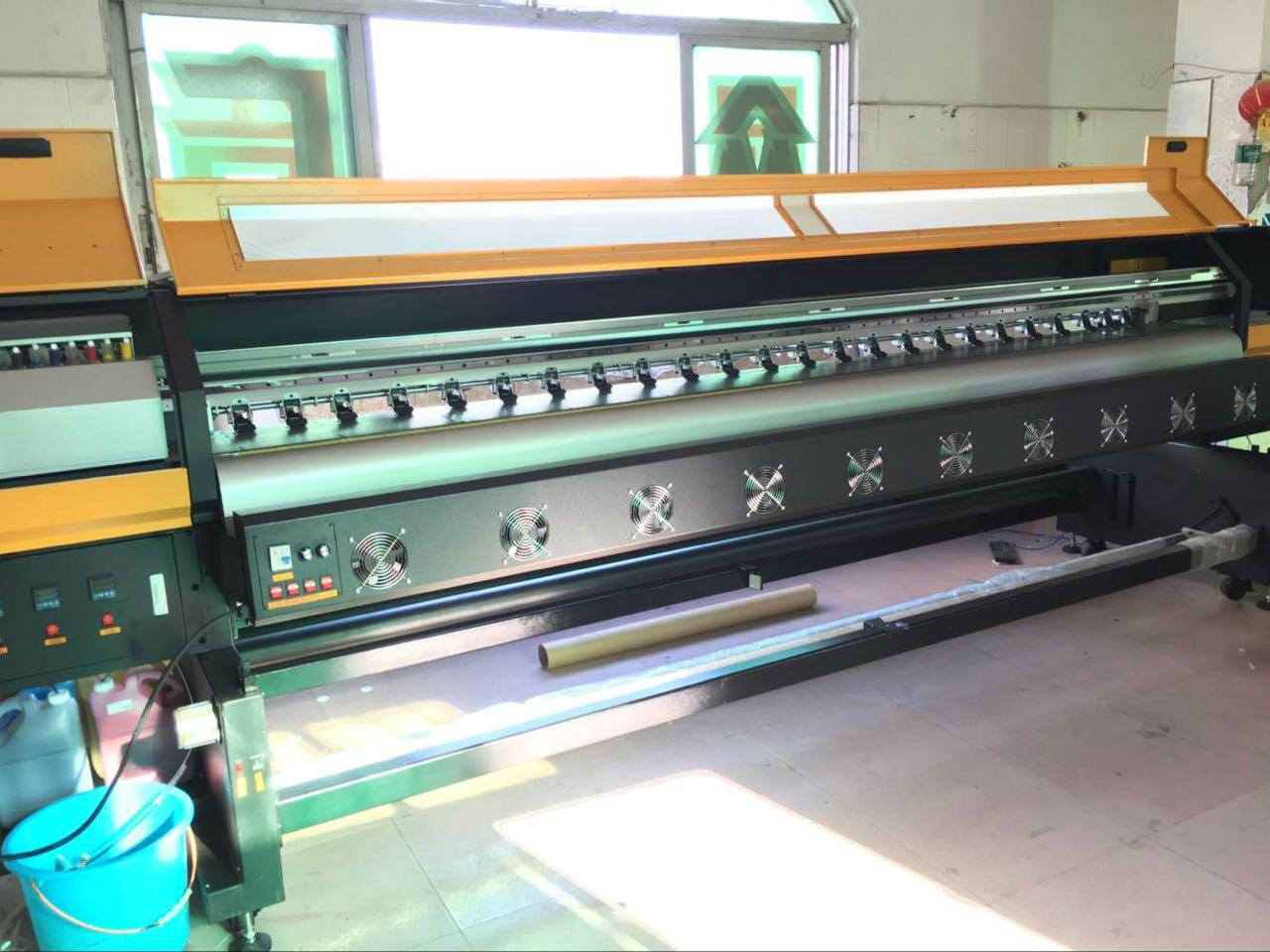 Hot sale 3.2m 10ft Knoica 512i Head Large Format  Solvent Printer  5