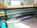 190 square meter 3.2m 10ft Knoica 512i Head Large Format  Solvent Printer  5