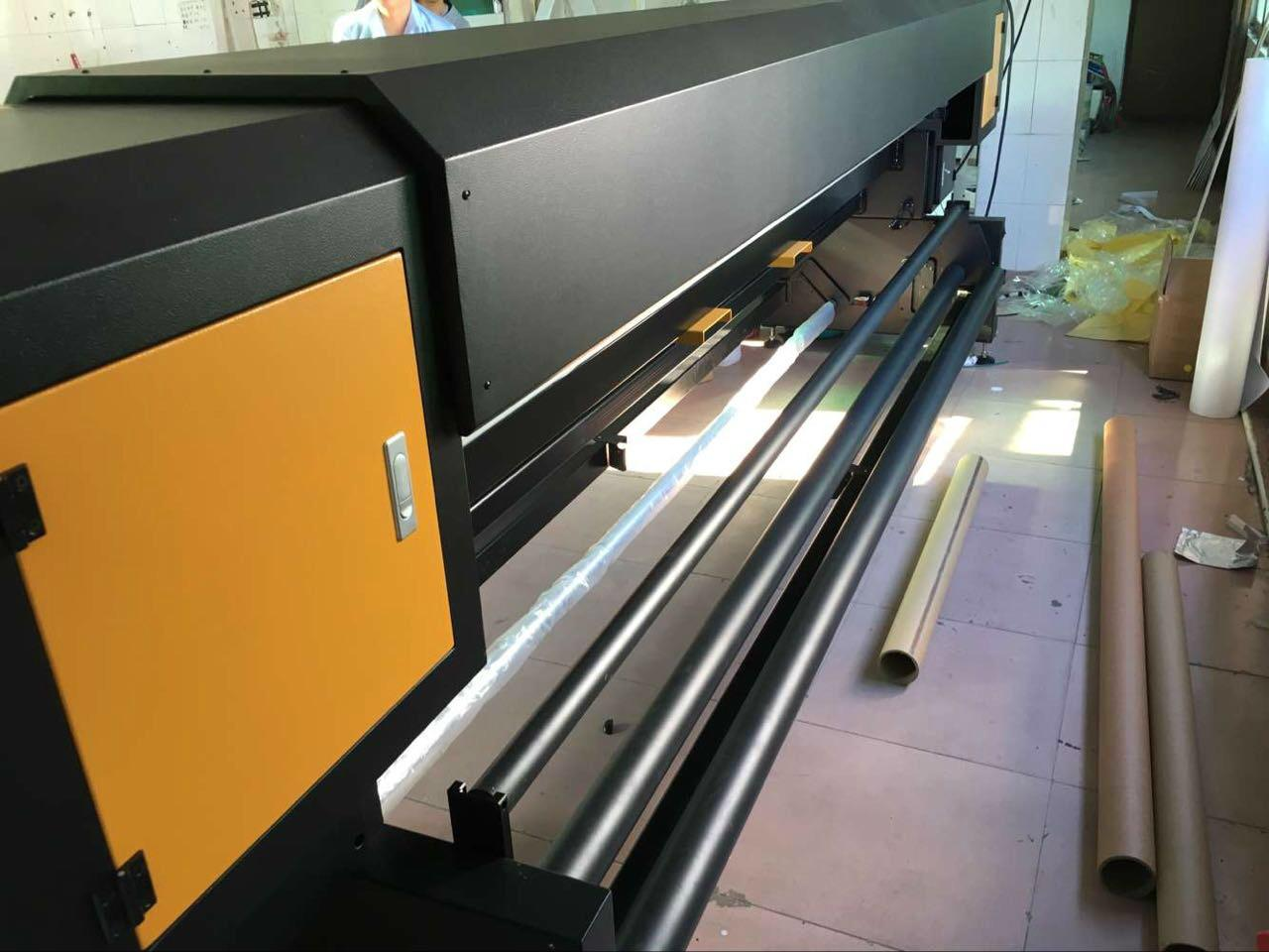190 square meter 3.2m 10ft Knoica 512i Head Large Format  Solvent Printer  6
