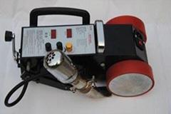 PVC plastic seaming machine/flex banner welding machine/tarpaulin seam soldering
