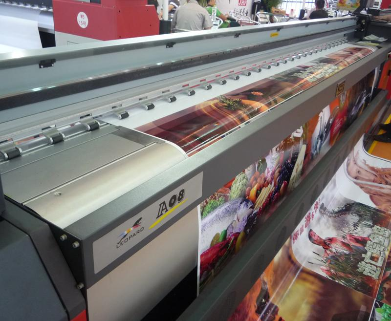 Leopard  Konica head Large Format Solvent Printer  3
