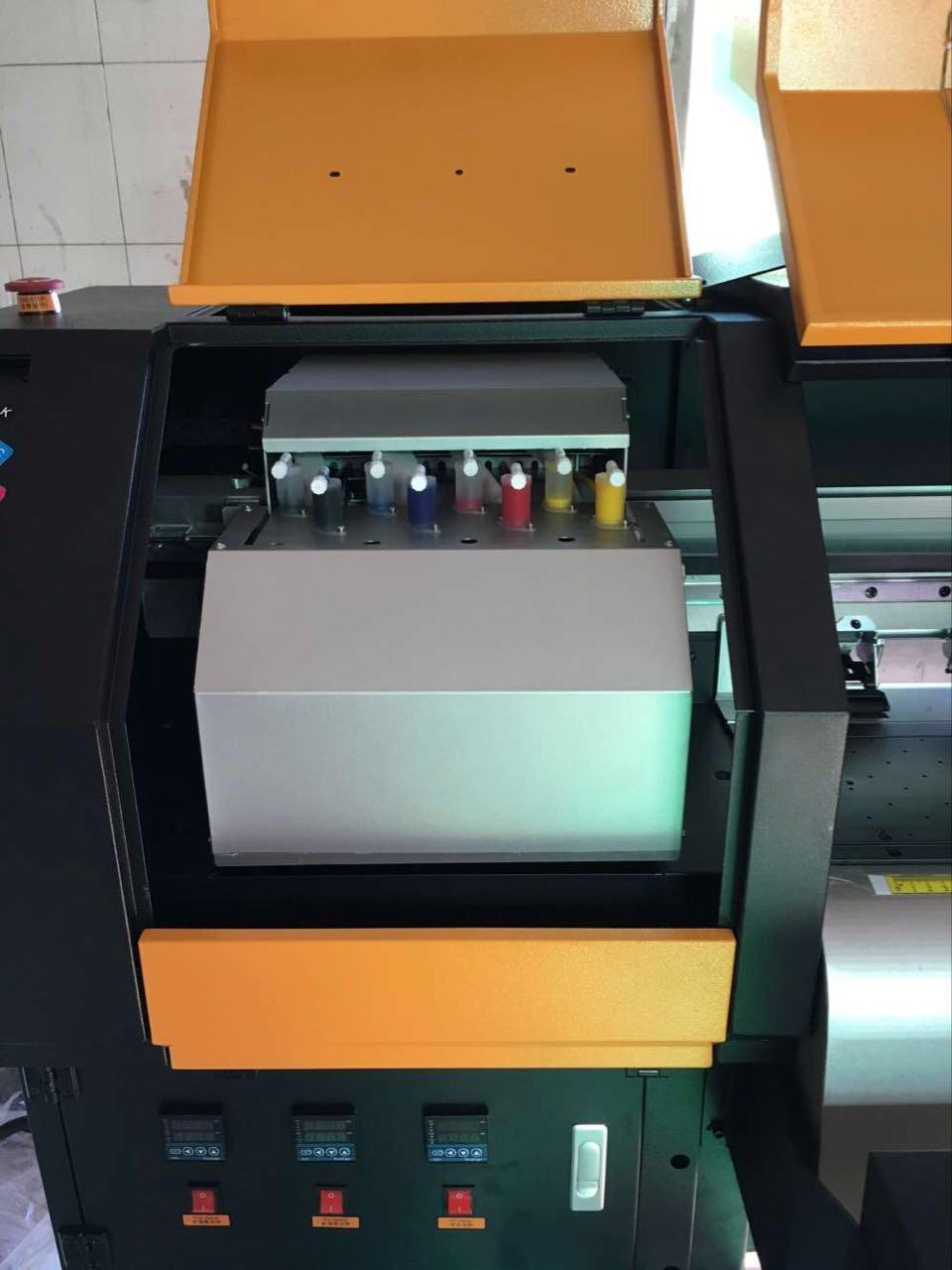 380 square mete 3.2m 10ft Knoica 512i with 8 Heads Solvent Printer  4