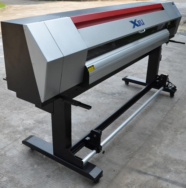 Xuli 1.8meter Double Epson Head  ECO Solvent Digital Inkjet Printer 1