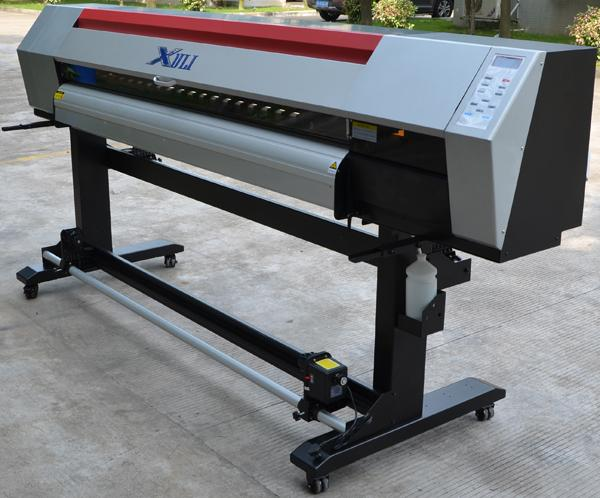 Xuli 1.8meter Double Epson Head  ECO Solvent Digital Inkjet Printer 3