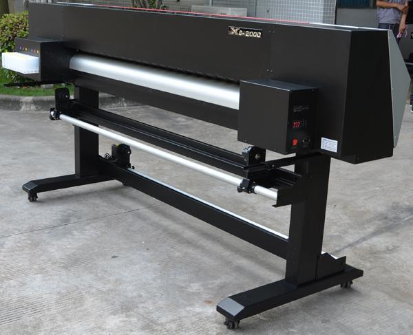 Xuli 1.8meter Double Epson Head  ECO Solvent Digital Inkjet Printer 4