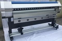 1.6米戶外壓電寫真機廣告油畫布車貼打印機
