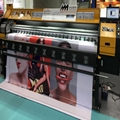380 square mete 3.2m 10ft Knoica 512i with 8 Heads Solvent Printer  6