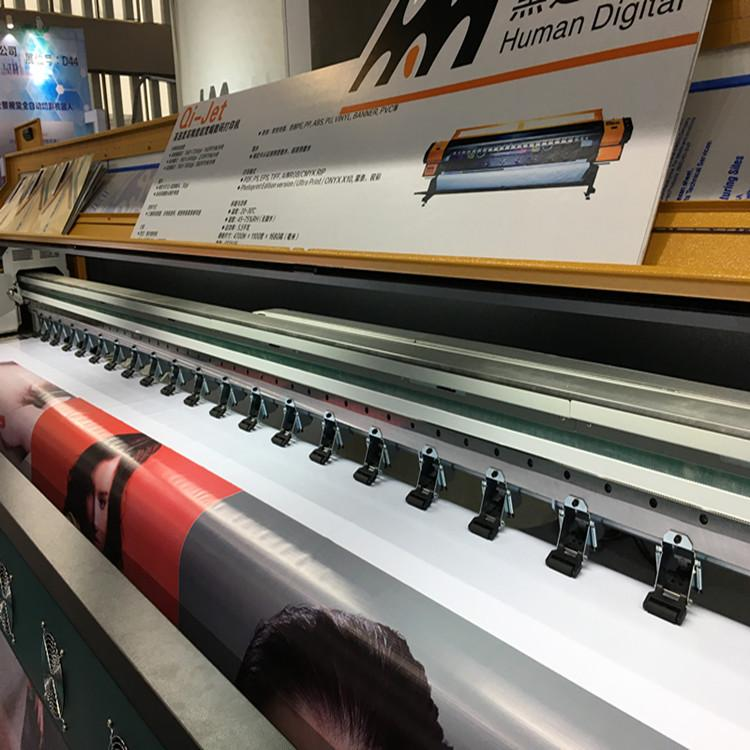 380 square mete 3.2m 10ft Knoica 512i with 8 Heads Solvent Printer  7
