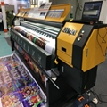380 square mete 3.2m 10ft Knoica 512i with 8 Heads Solvent Printer  8