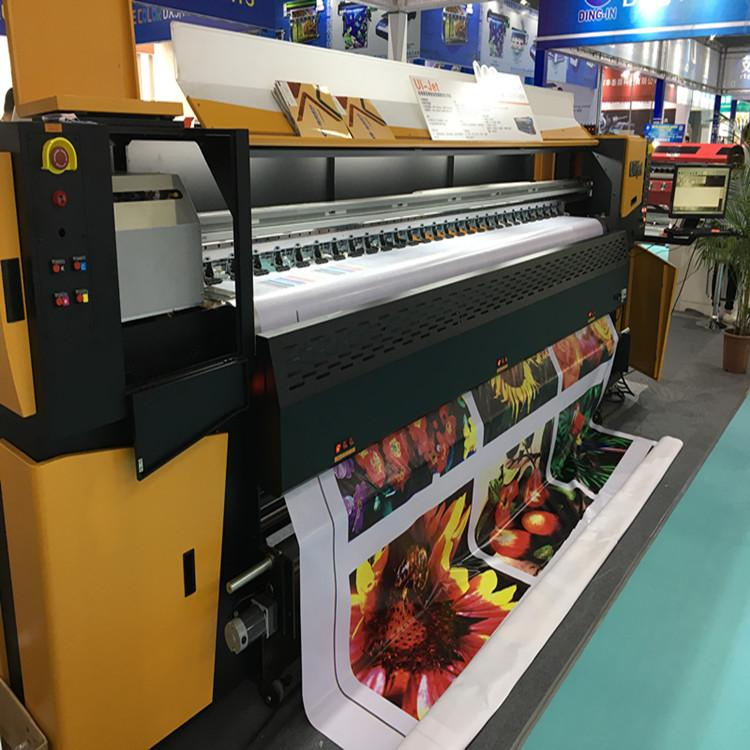 3.2meter Heavy Model 8 Konica 512i Heads Solvent Printer 1