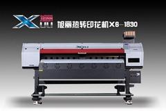Dye Sublimation digital inkjet printer  5113 head printing machine
