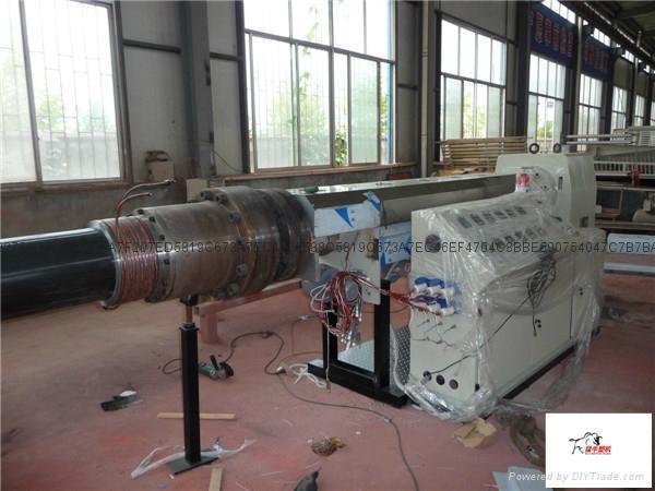超高分子量聚乙烯管材生產線 2