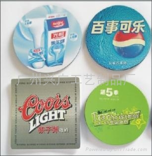 EVA杯垫 广告杯垫 5