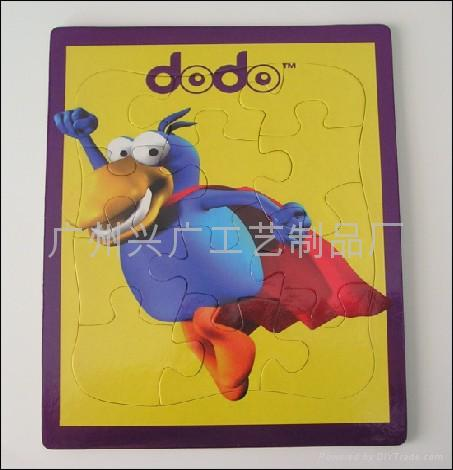 纸板拼图 儿童益智玩具 平面拼图 2