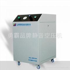 氣相色譜配套全無油無水靜音空壓機 YB-WWJ60