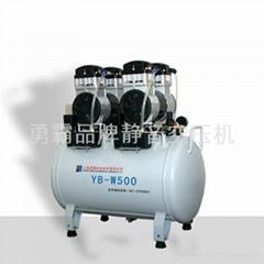 上海無油型空氣壓縮機YB-W400