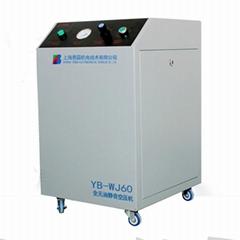 小型静音箱式无油空压机YB-WJ60