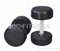 Top Quality Fixed Rubber Coated Dumbbell