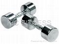 Chrome Steel Dumbbell (A03)