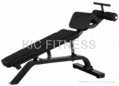 Precor Sports Equipment Adjustable Decline Bench (D21)