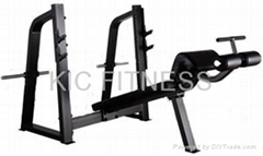 Precor Gym Equipment Olympic Decline Bench (D24)