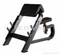 Precor Fitness Machine / Seated Preacher