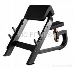 Precor Fitness Machine / Seated Preacher Curl (D27)