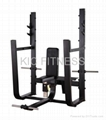 Precor Gym Machine Olympic Seated Bench