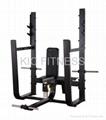 Precor Gym Machine Olympic Seated Bench