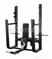 Precor Gym Machine Olympic Seated Bench (D33)
