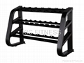 Precor Gym Equipment Dumbbell Rack (D41)
