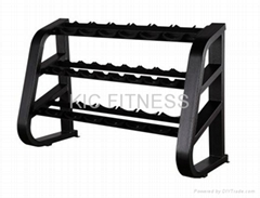 Precor Gym Equipment / Beauty Dumbbell Rack (D41)