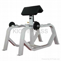 CE Certificated Gym Equipment  / Standing Preacher Curl (D46)