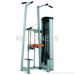 Gym80 Heavy Duty Gym Equipment / Chin & Dip Assist (L16)