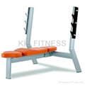 Exercise Equipment Olympic Flat Bench