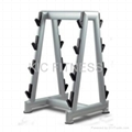 Gym80 Fitness Machine Barbell Rack (L32)