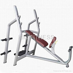 Plate Loaded Fitness Machine Incline Bench(Luxury) (T27)