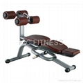 Free Weight Gym Machine Crunch Bench