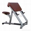 Free Weight Strength Machine Scott Bench