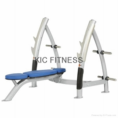 Excellent Hoist Gymnastic Equipment Flat Olympic Bench (R1-22)
