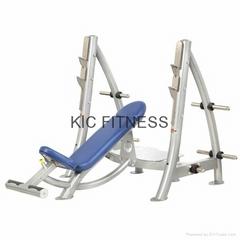 High Quality Hoist Training Equipment Incline Olympic Bench (R1-23)